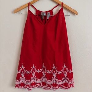 Old Navy Red Blouse